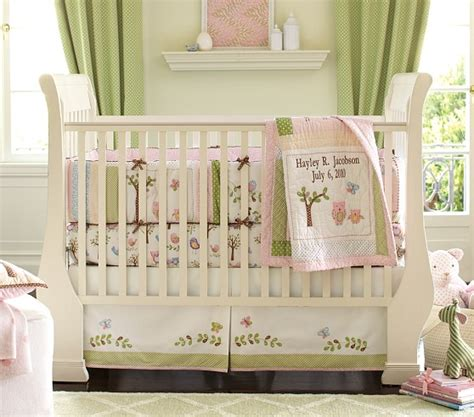 Hayley Nursery Bedding Set Hayley Nursery Bedding Set Pottery Barn Kids