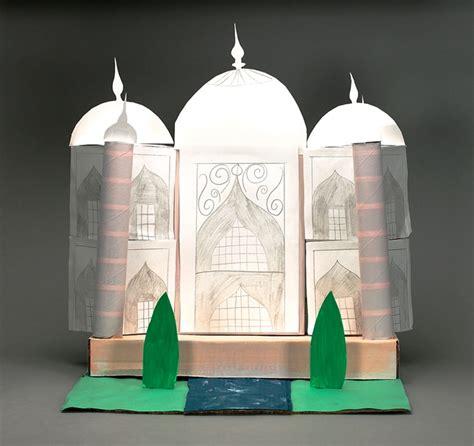 Architecture Taj Mahal India Miniature Papercraft majestic taj mahal crayola ca