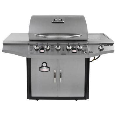 brinkmann smoke n 5 burner propane gas grill 810 1751 sc