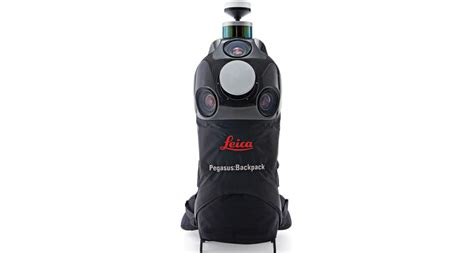 leica pegasusbackpack wearable mobile mapping solution