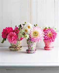 small flower pots as vases pictures photos and images