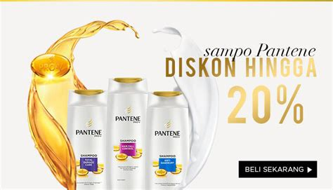 Harga Pantene Shoo Total Damage Care pantene official store jual pantene official store