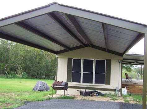 used mobile home awnings mobile home aluminum porch awnings design bestofhouse
