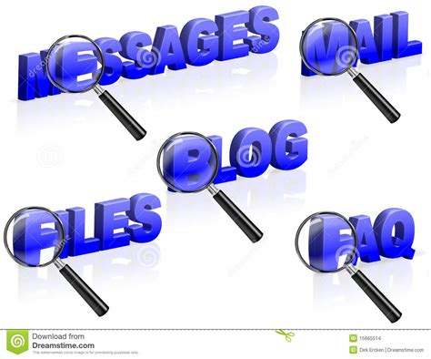 Faqs Search Message Mail Files Faq Search Stock Images Image 15665514