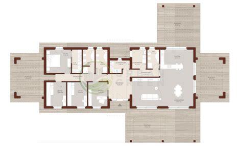 planimetria casa 120 mq casa in legno monopiano urb29 green