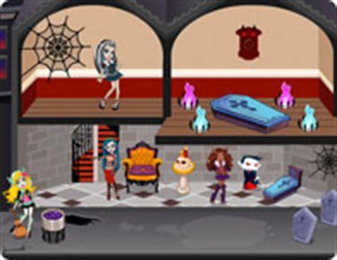 monster high doll house game monster high doll house girlsocool