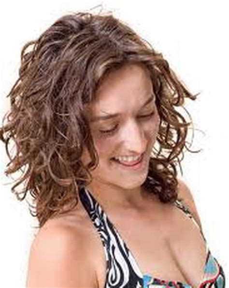 perm mid length hair on lady over 50 permed layered hairstyles women over 50