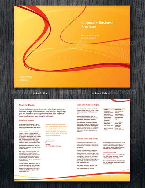 doc 625524 business brochure template bizdoska com
