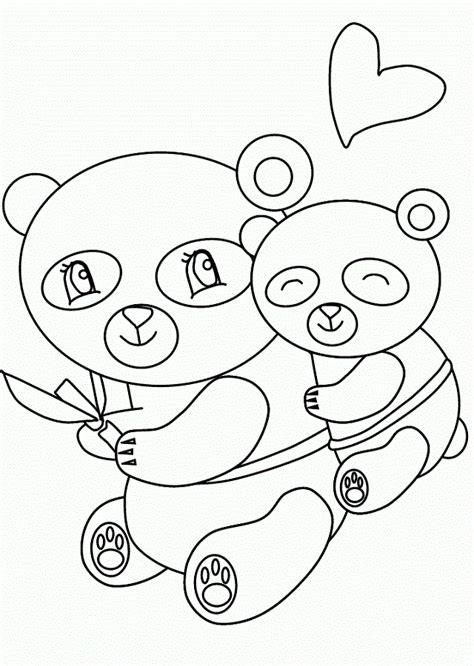 imagenes para pintar oso osos pandas para colorear dibujos para colorear