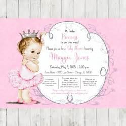 ballerina baby shower invitations iidaemilia com