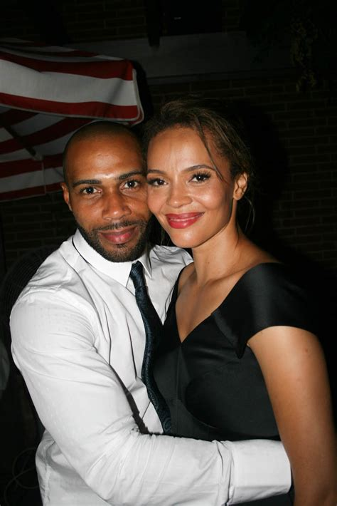 sparkle ny afterparty omari hardwick and carmen ejogo