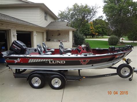 walleye boats for sale in mn garrett manderfield s lund boat for sale on walleyes inc