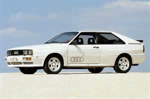 The Audi Quattro Ausmotive 187 Past Master Audi Ur Quattro