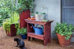 Patio Sinks by How To Build An Outdoor Sink Bonnie Plants