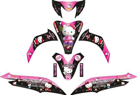 Striping Honda Spacy Hello Kittyi комплект наклеек на скутер honda spacy black hello