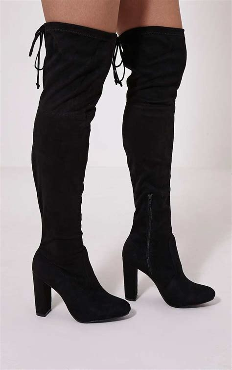 pretty boots 35 pairs of the knee boots for autumn winter