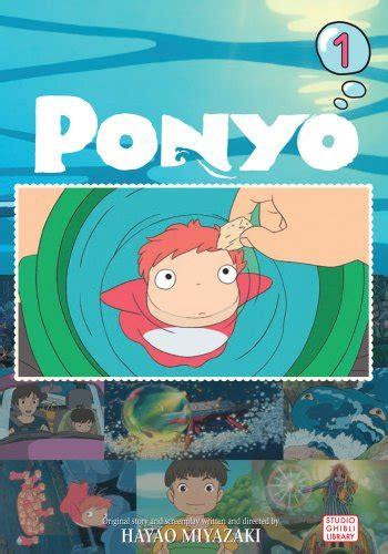 ghibli film comics viz see ponyo film comic vol 1