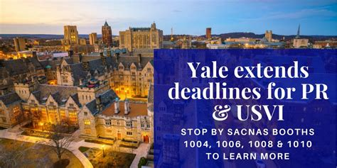 Yale Deadlines Mba by Yale Extends Application Deadlines For Students From