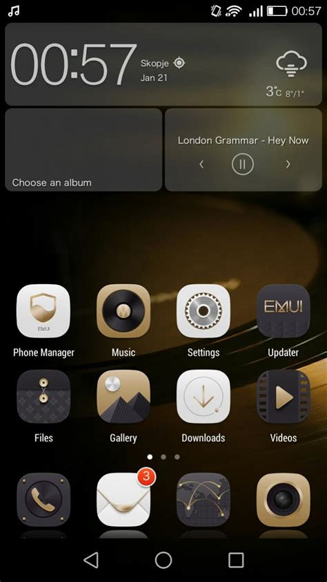 theme gold emui mate 7 gold theme for emui 3 0 by nesssy on deviantart
