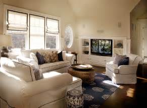 Tv built ins cottage living room elsa soyars