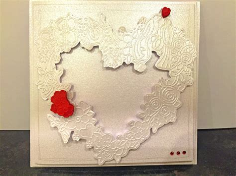 how to make embossed cards how to make an embossed card hobbycraft
