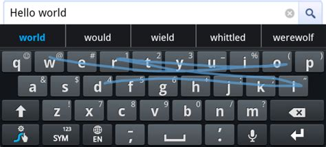 swype keyboards for android how to type faster with the swype keyboard for android