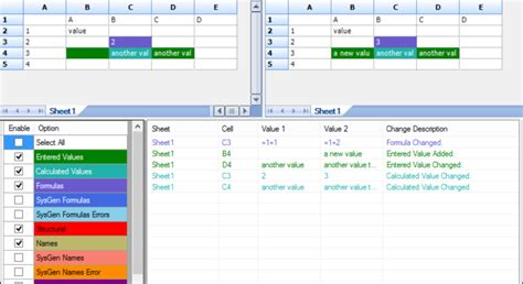 Compare Excel Spreadsheets For Differences compare two excel spreadsheets for differences excel tmp