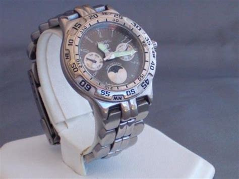 Other Watches Fossil Blue Moon Phase Wrist Watch Bq