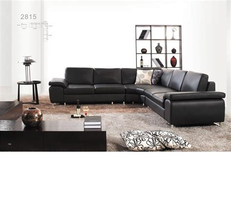 bonded leather sectional sofa dreamfurniture com 2815 modern bonded leather