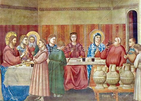 Wedding At Cana Giotto by High Res Image Marriage Feast At Cana By Giotto Bondone