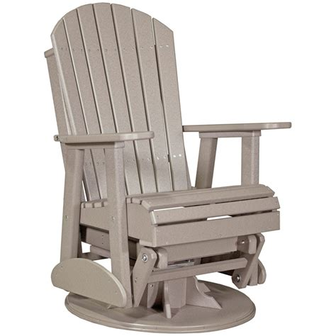 Glider Patio Chair Swivel Glider Chair Outdoor Rocking Chair Porch Rocker Glider Ottoman Outdoor Cushions Patio