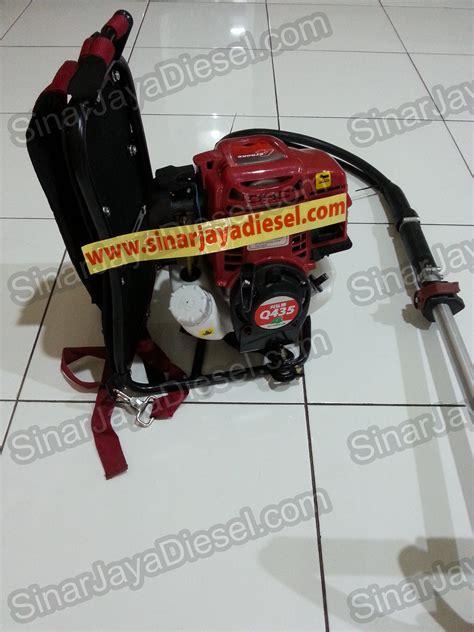mesin potong rumput gendong proquip q435 sinar jaya diesel