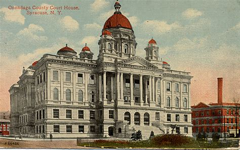 Onondaga County Court Search Onondaga County Postcards Court Houses