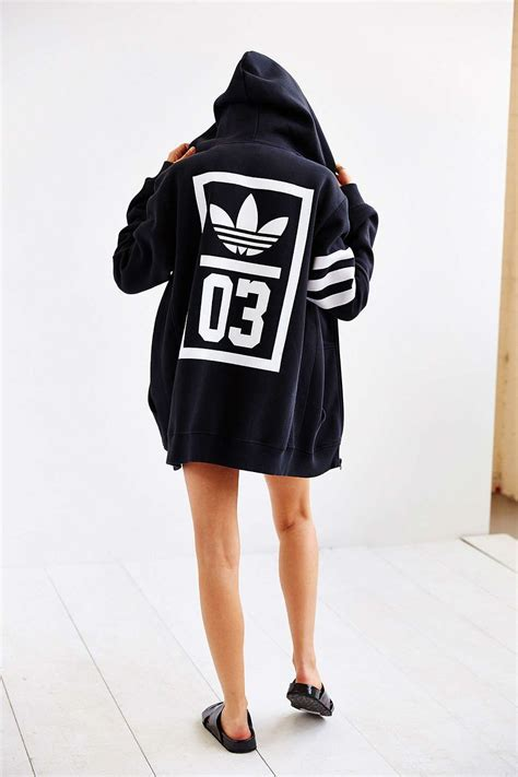 Jaket Supreme Hoodies Right Band Black adidas originals trefoil zip up hooded sweatshirt
