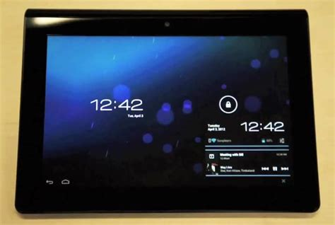 Update Tablet Sony sony tablet s gets android 4 0 sandwich update