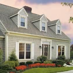 Cape Cod House Color Schemes sage green cape shingle siding with a soft grey roof i