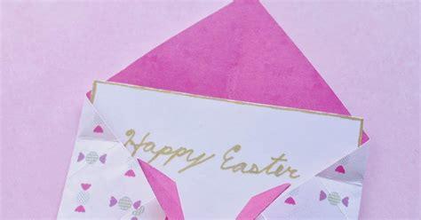 Origami Bunny Envelope - origami maniacs origami bunny envelopes