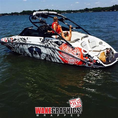 wake boat decals 20 best ideas for boat graphics images on pinterest boat
