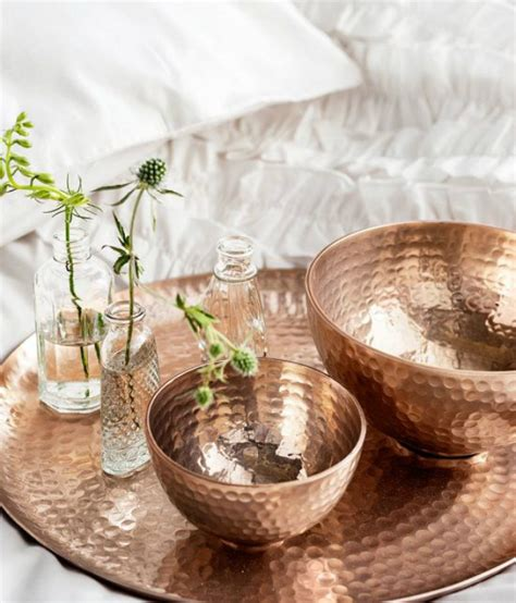 copper decor for home decor inspiration copper accessories boca do lobo