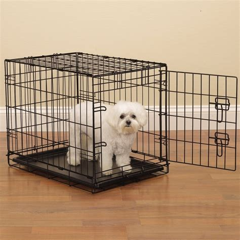 crate small breed puppies proselect easy crates for dogs and pets black