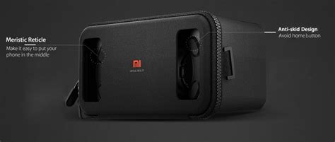 Xiaomi Mi Vr Headset Box 3d Reality For Smartphone Limited xiaomi mi vr headset box 3d reality for smartphone