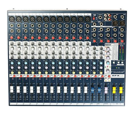 Mixer Soundcraft Fx 16 efx12 soundcraft professional audio mixers