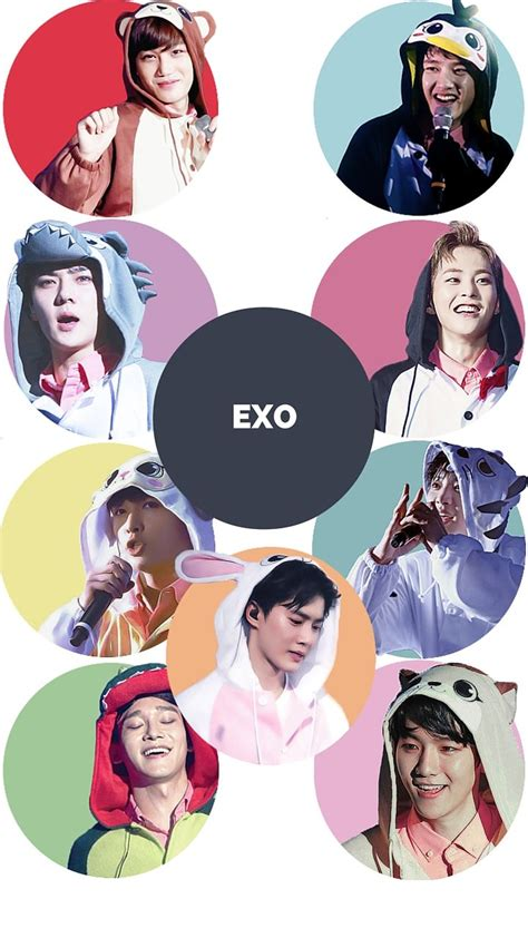 exo lockscreen the 36 best images about exo on pinterest