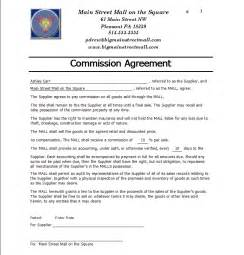 commision contract template commission contract template free