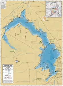lake maps beaver dam lake wall map
