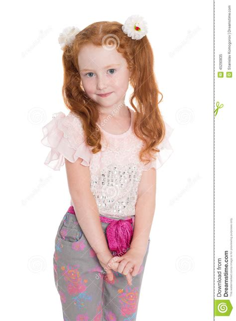 tiny small fashionista in a stock photo image 45290835