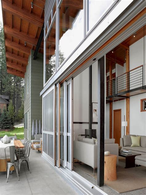 Beautiful Open Space With Exterior Pocket Sliding Glass Sliding Pocket Doors Exterior