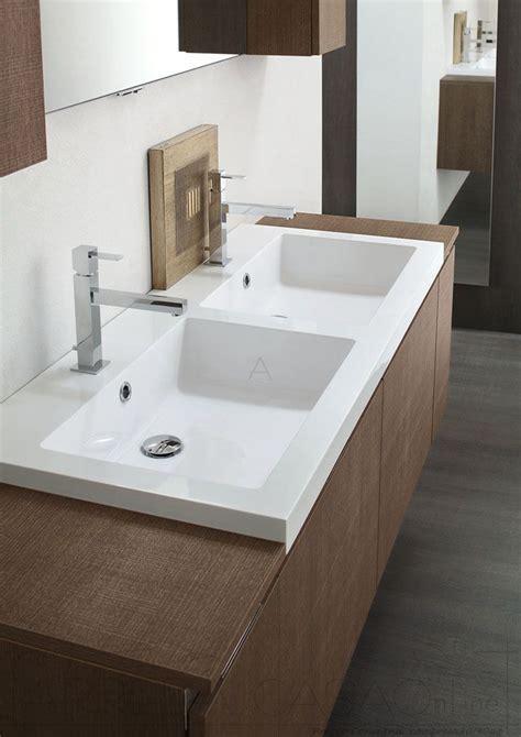 costo lavandino bagno mobile bagno doppio lavabo rovere marrone go22 prezzo
