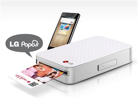 pocket for android lg pocket photo pd221 silver mini mobile printer for android smartphone electronics
