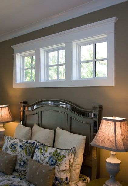 high bedroom windows frame in windows above bed pinteres
